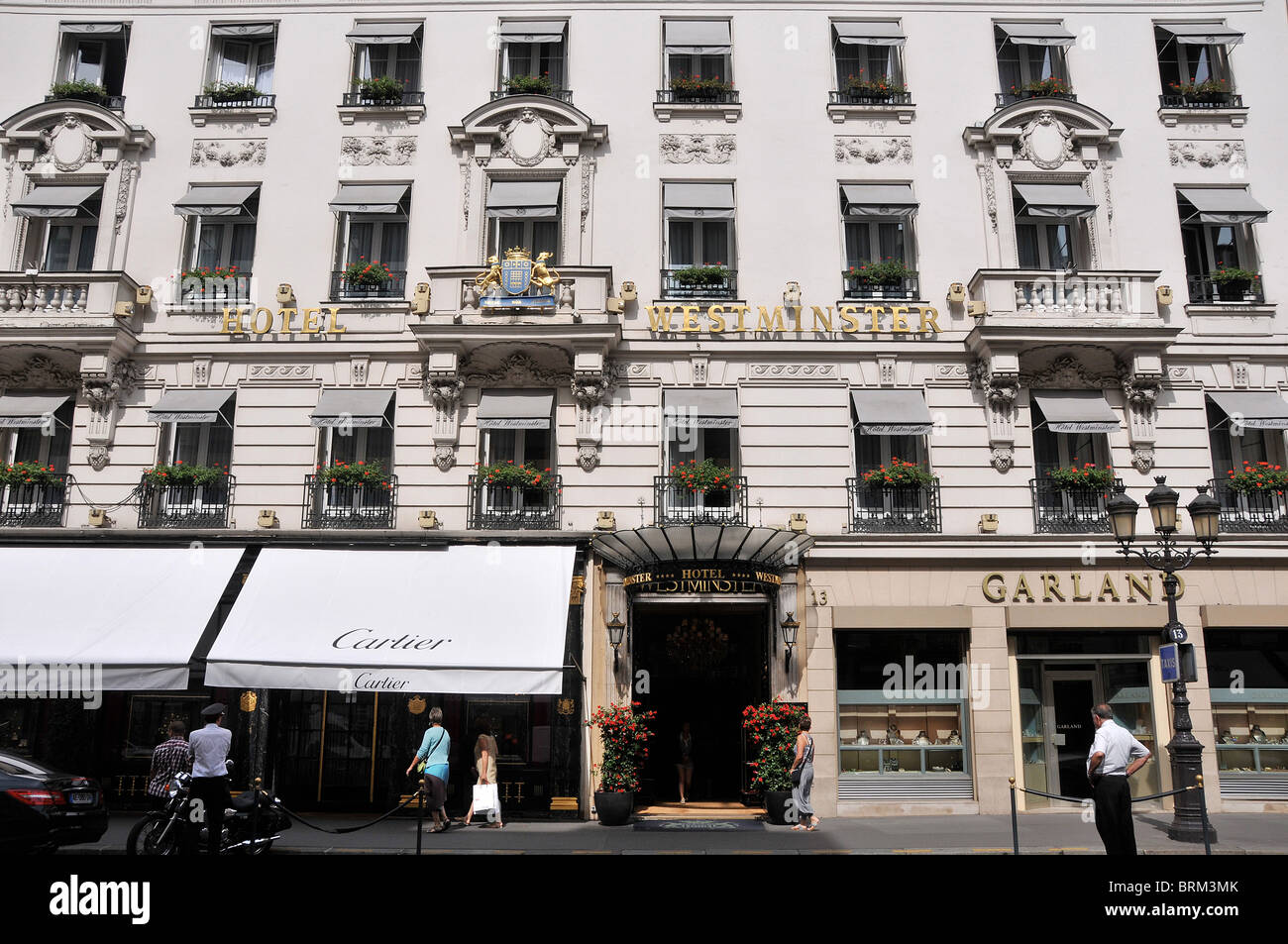 Westminster hotel, Paris, France Stock Photo: 31789427 - Alamy