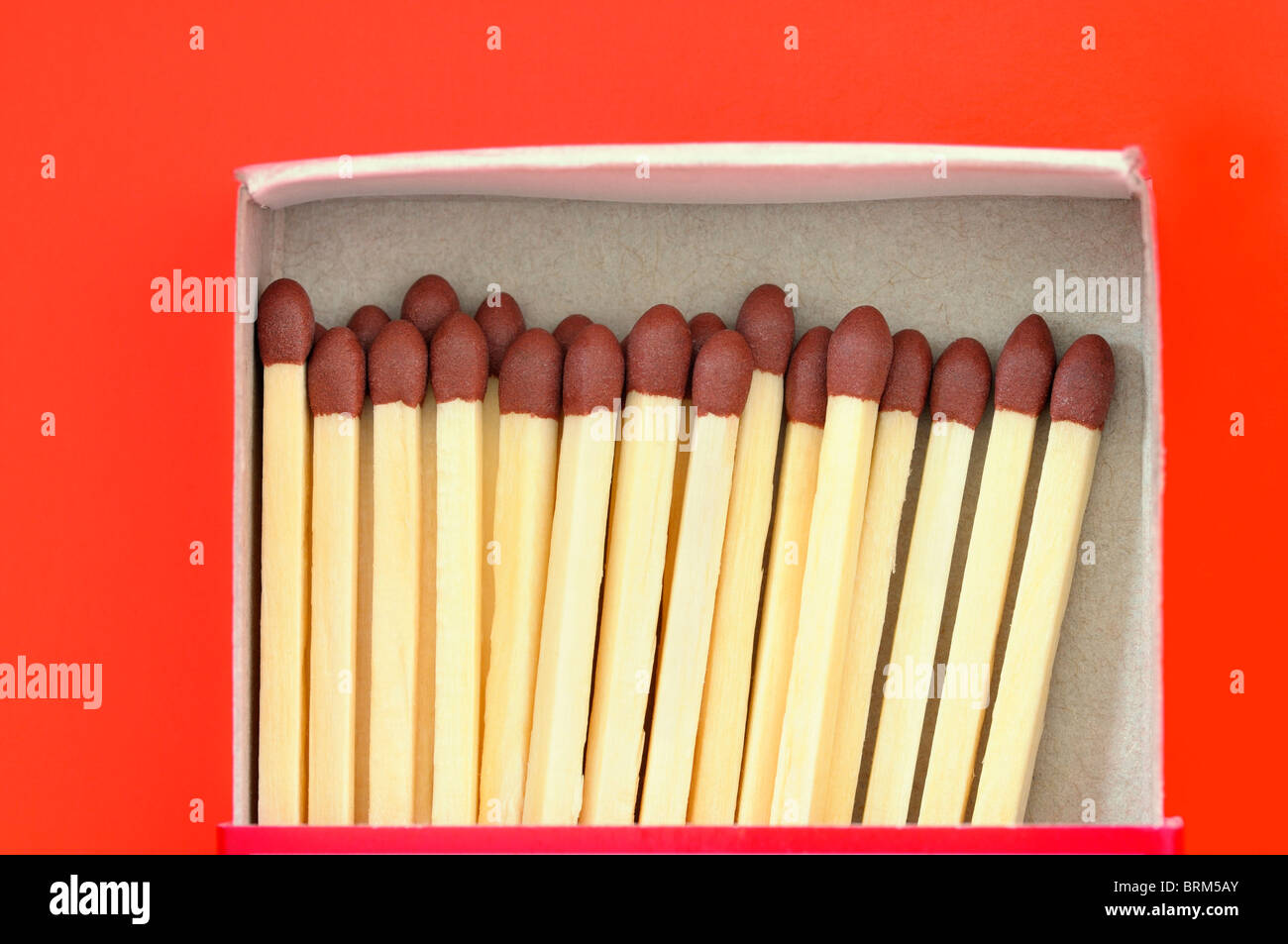 Box of Matches - Stock Image