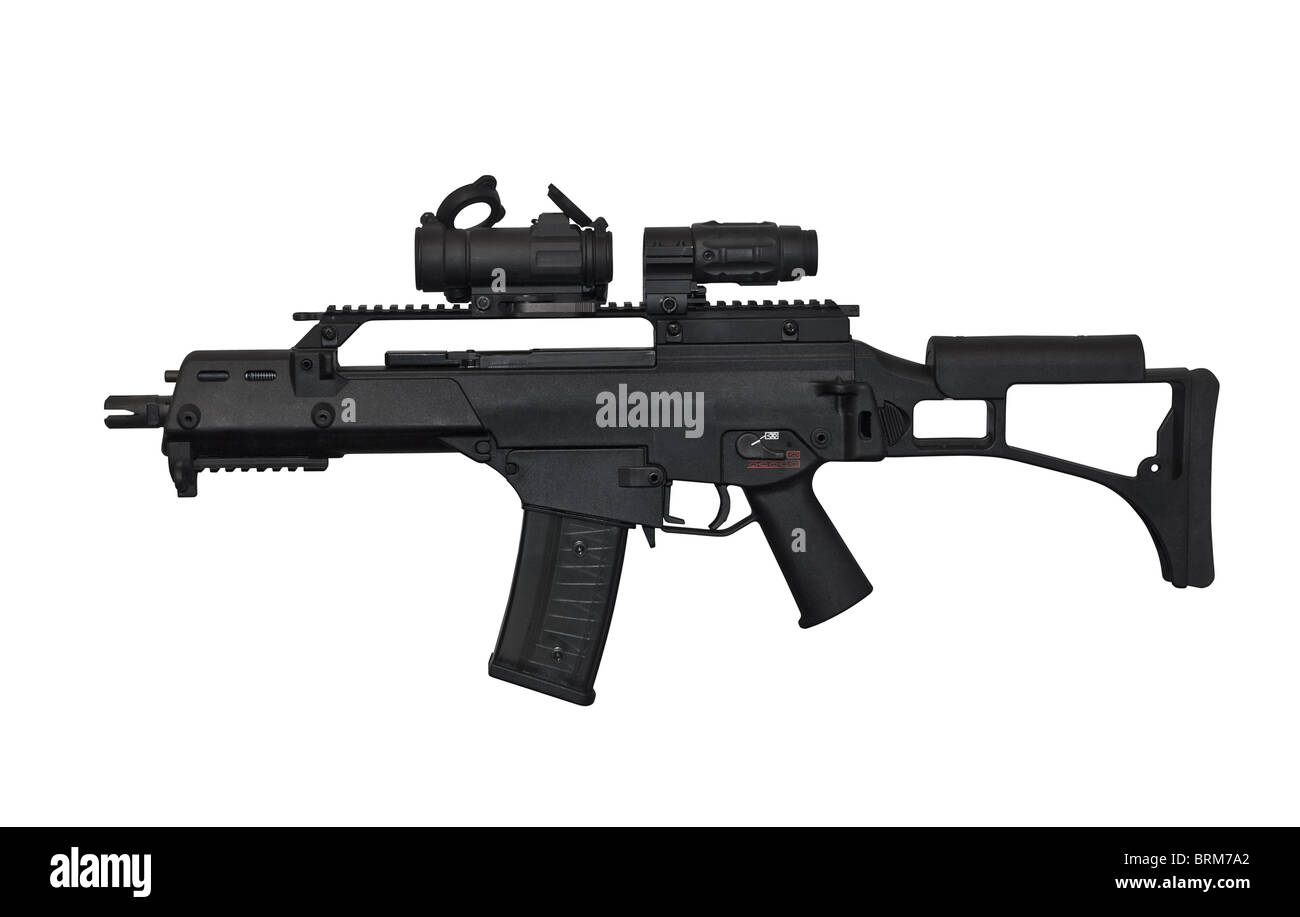 Heckler and Koch G36 Assault Rifle Stock Photo: 31792266 - Alamy