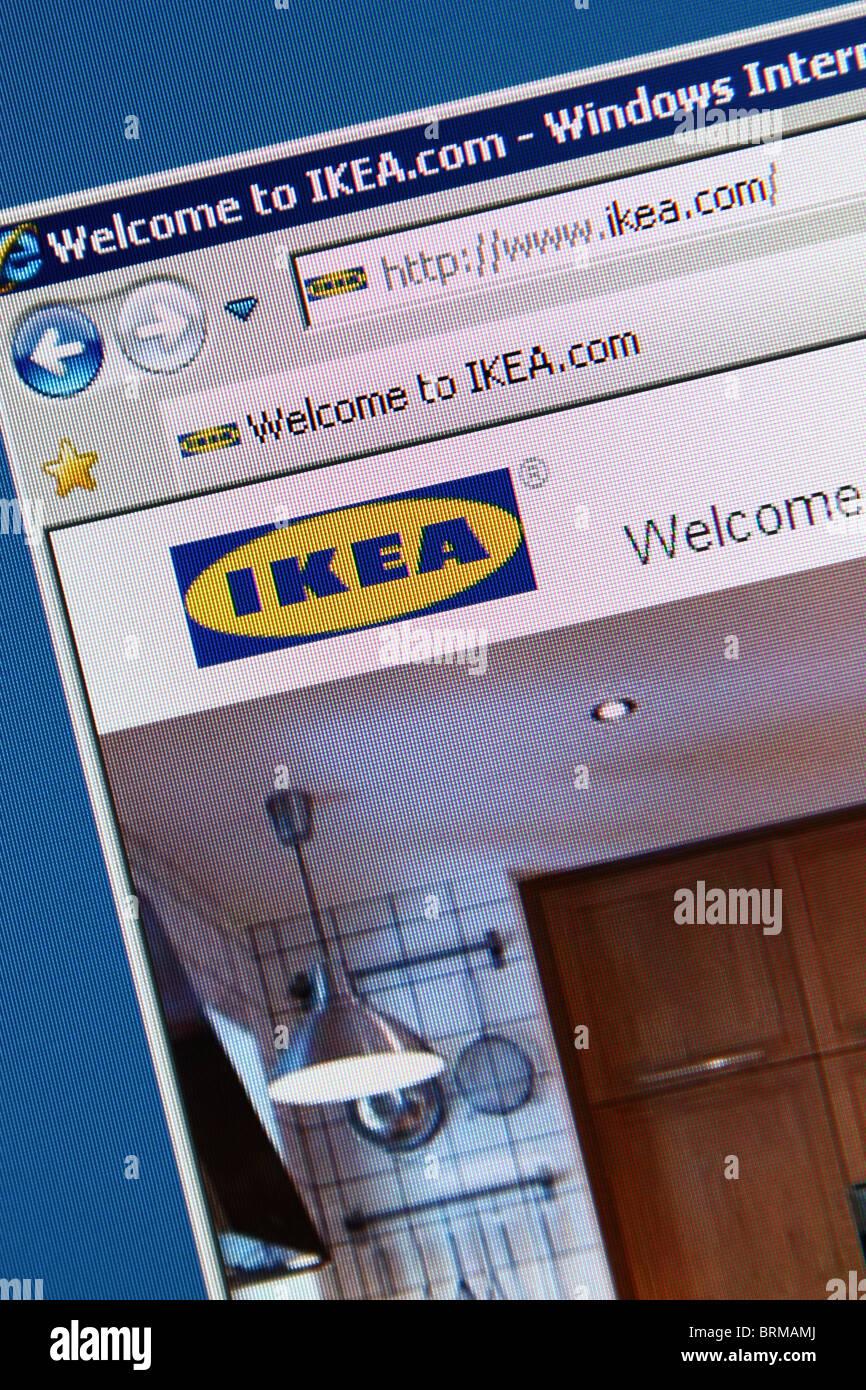 Ikea furniture store - Stock Image