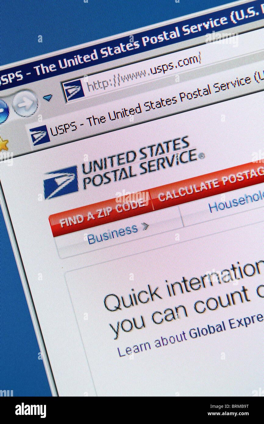 USPS postal service - Stock Image