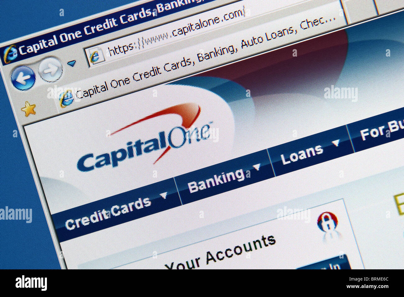 Capital one credit card banking online