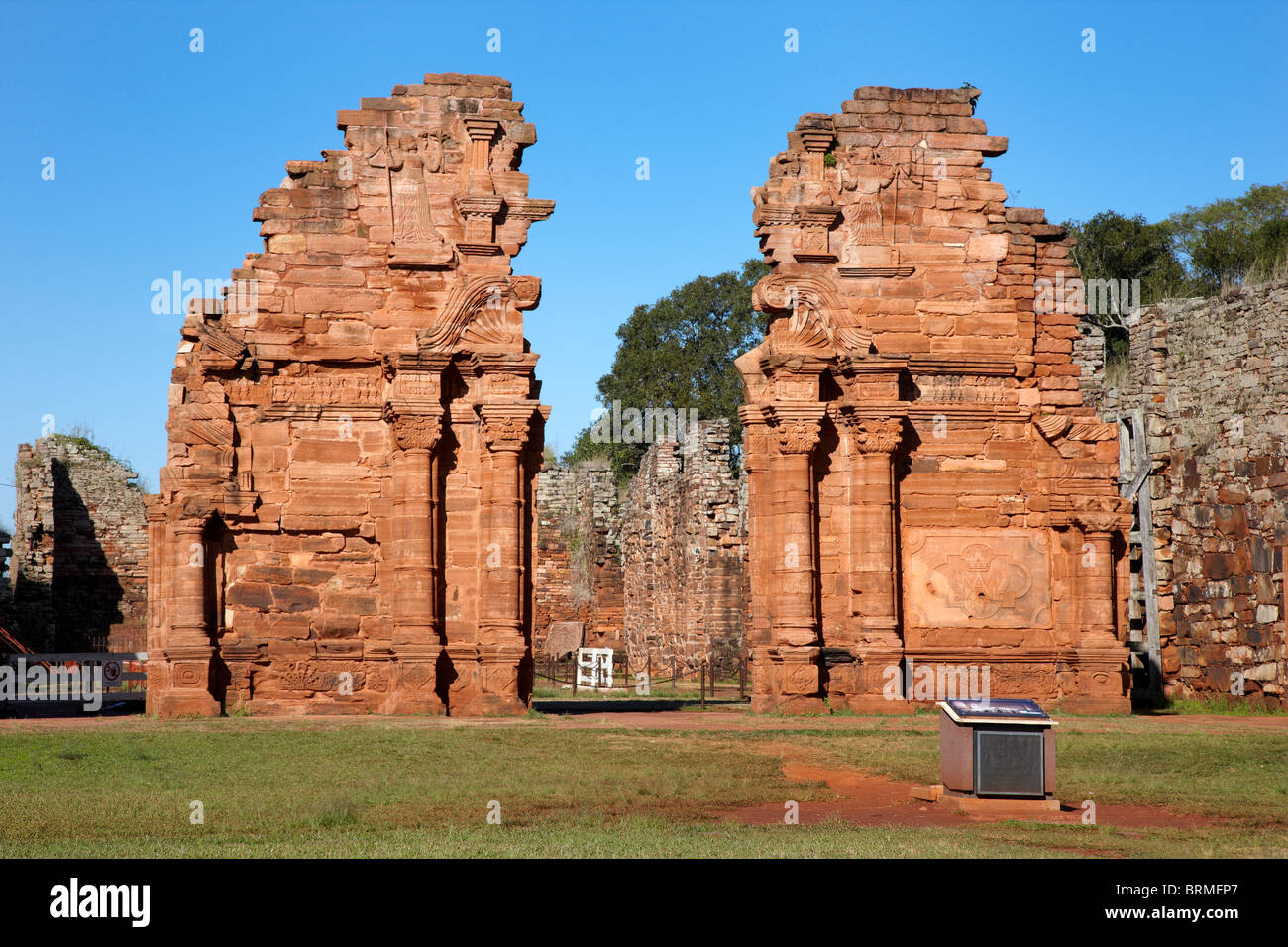 Mision Jesuitica Guarani, San Ignacio Mini, Argentina - Stock Image