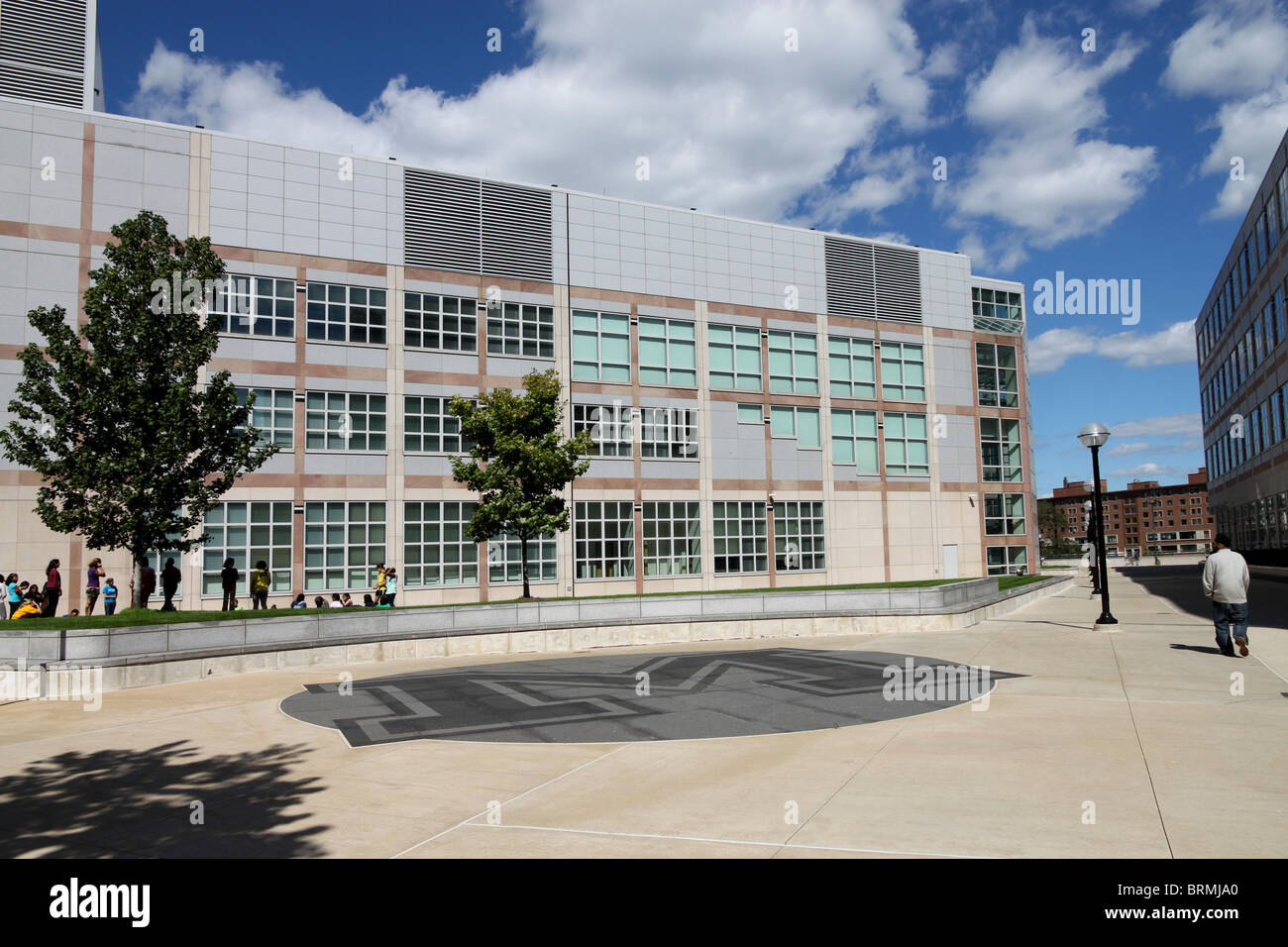 University Of Michigan Modern Architecture   Stock Image
