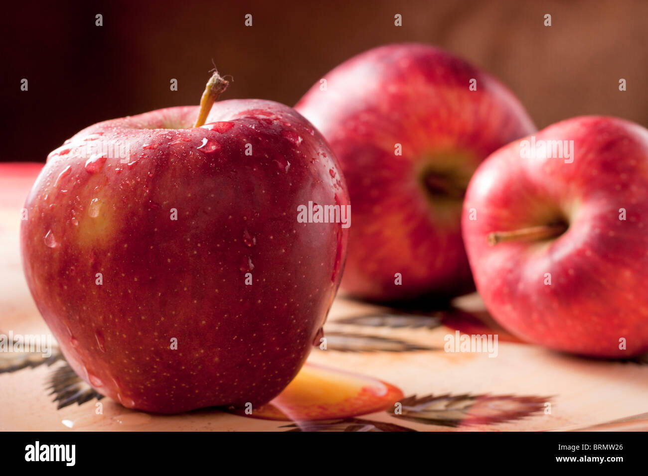 Red Apples - Stock Image