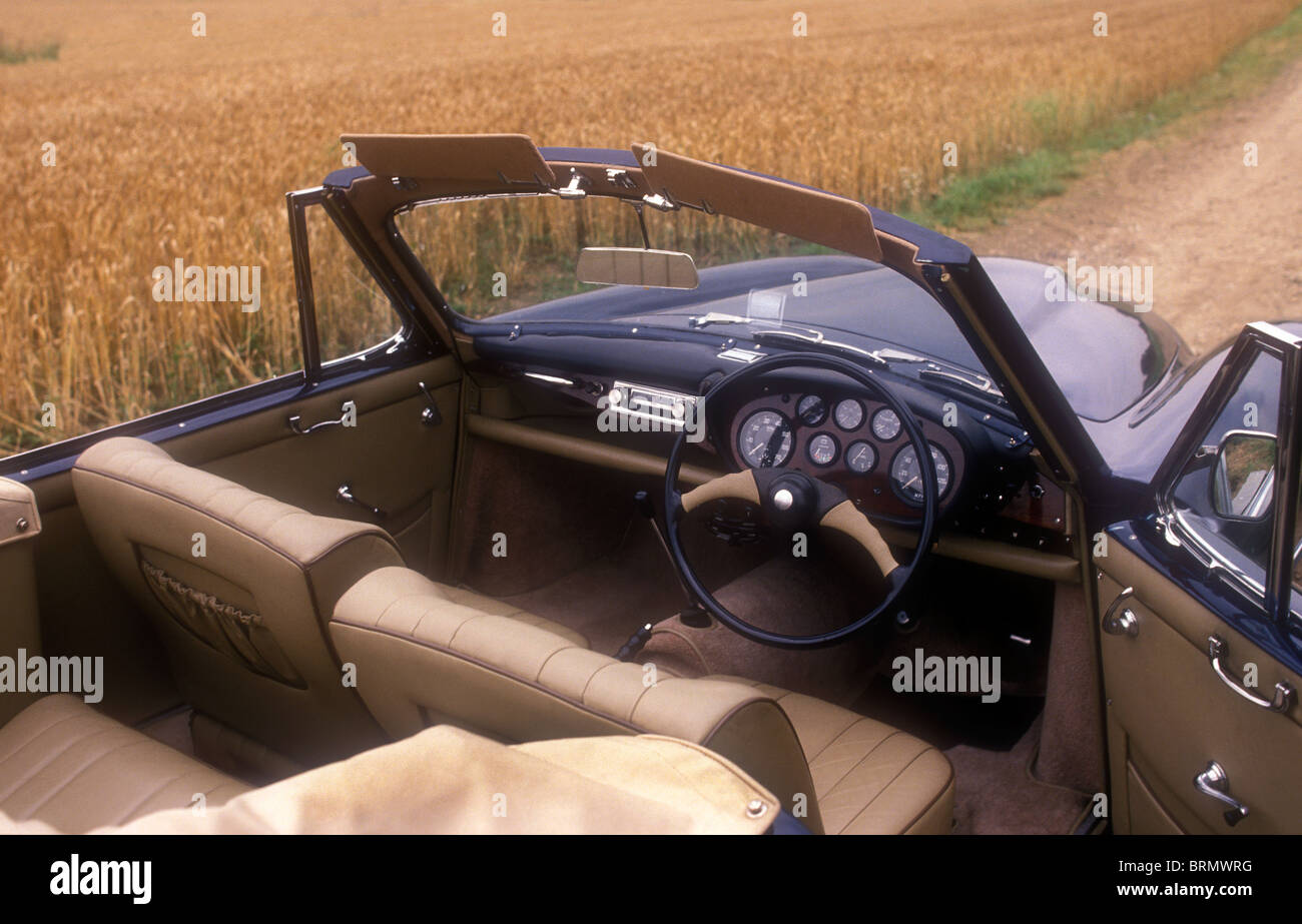 1956 Bristol 405 Convertible - Stock Image