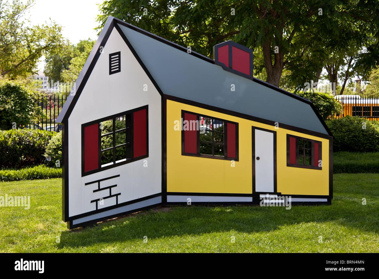 House 1 by Roy Lichtenstein in National Gallery of Art Sculpture ...