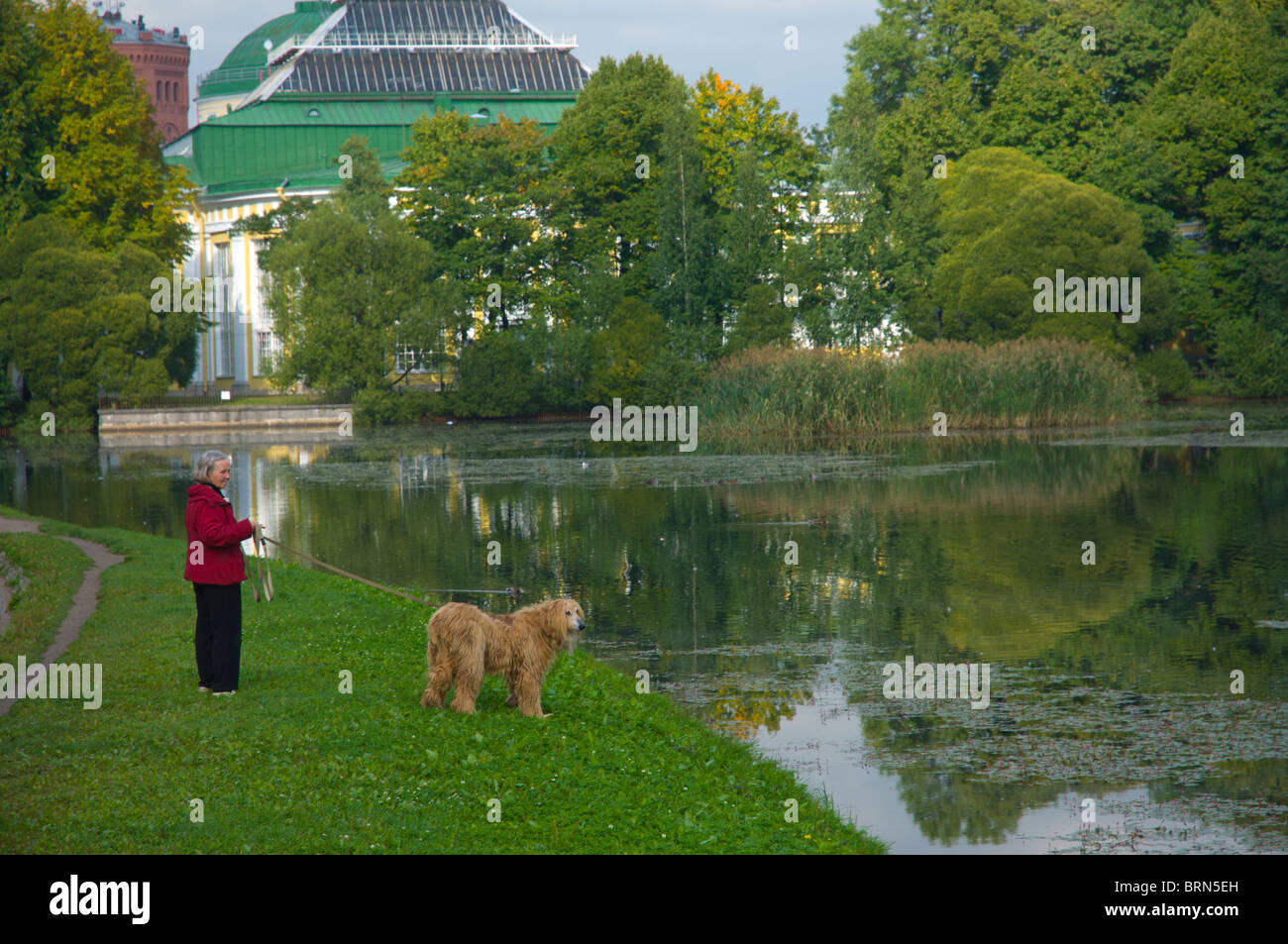 Orangery of the Tauride Garden in St. Petersburg 49