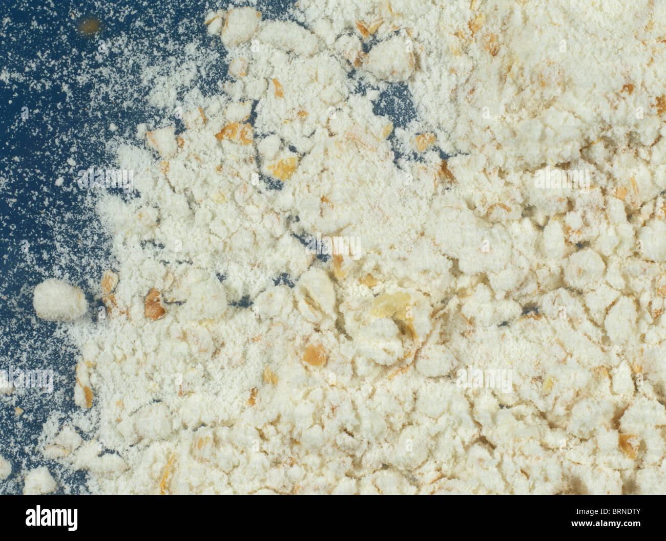 Brown 'Oxford' flour - Stock Image