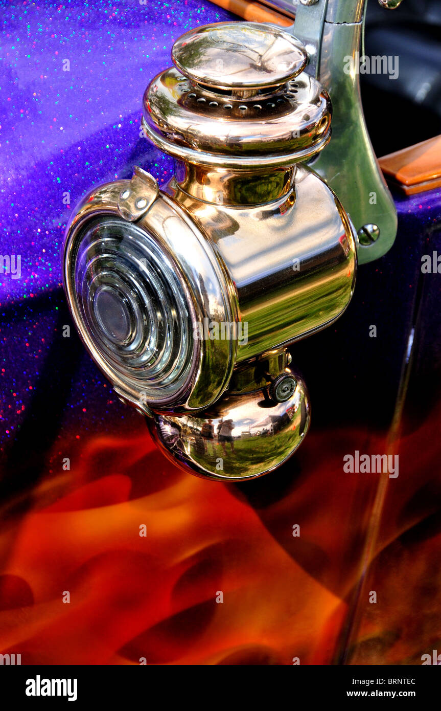 1923 Ford T Bucket Tail Light (Model T) - Stock Image