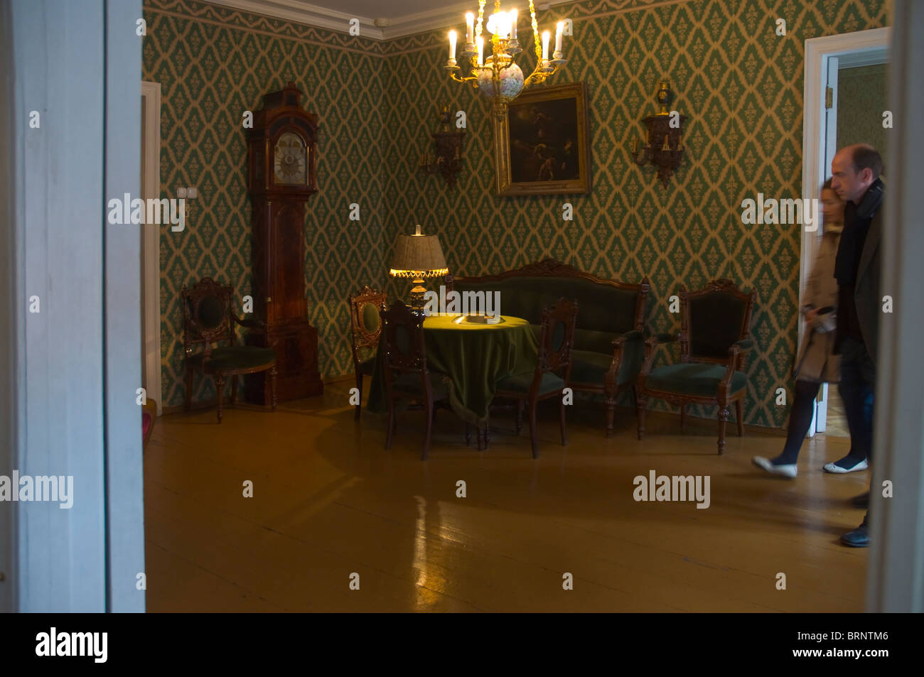 Dostoyevsky house and museum St Petersburg Russia - Stock Image