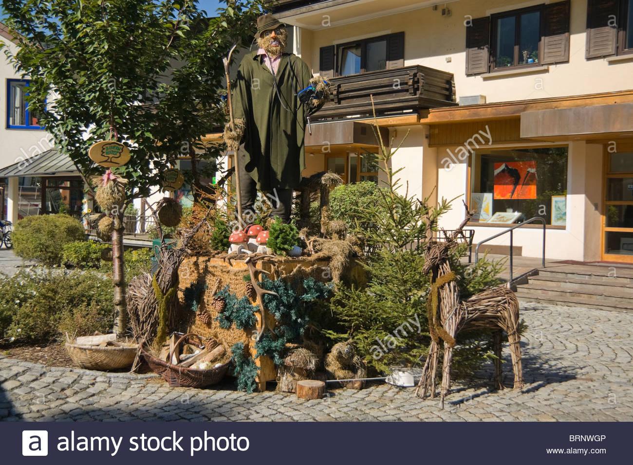 Austria Kaprun Village Harvest Festival Decoration