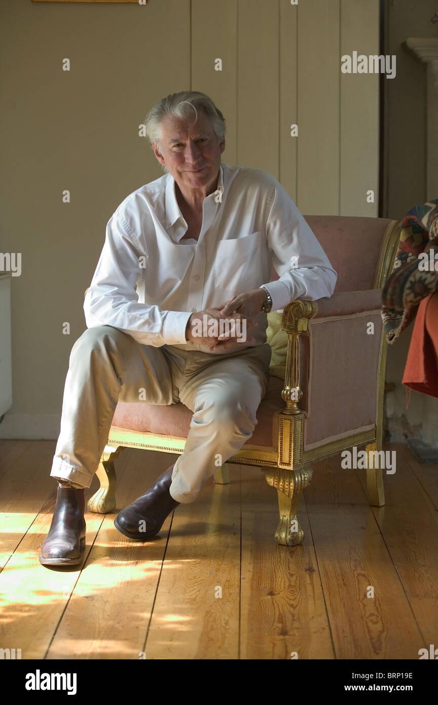 Geoffrey Burgon composer 1994 - Stock Image