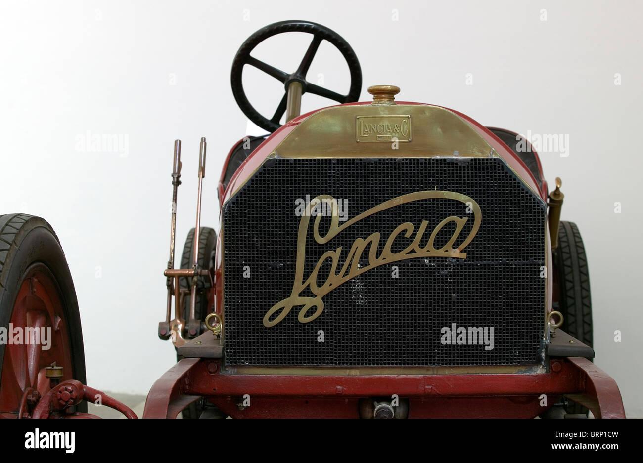 Edwardian Lancia racing car - Stock Image