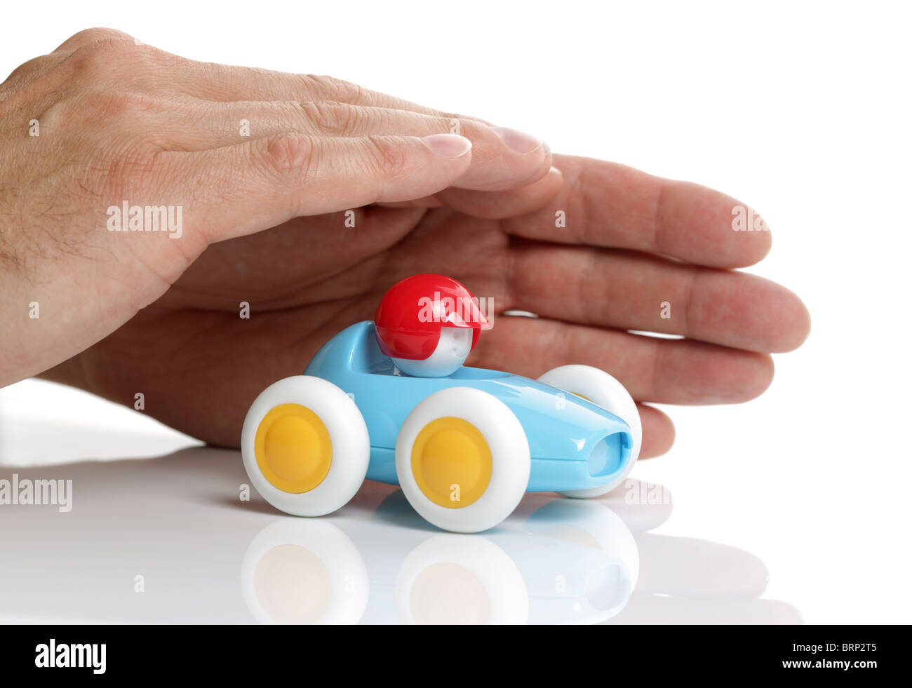 Protecting your car - Stock Image