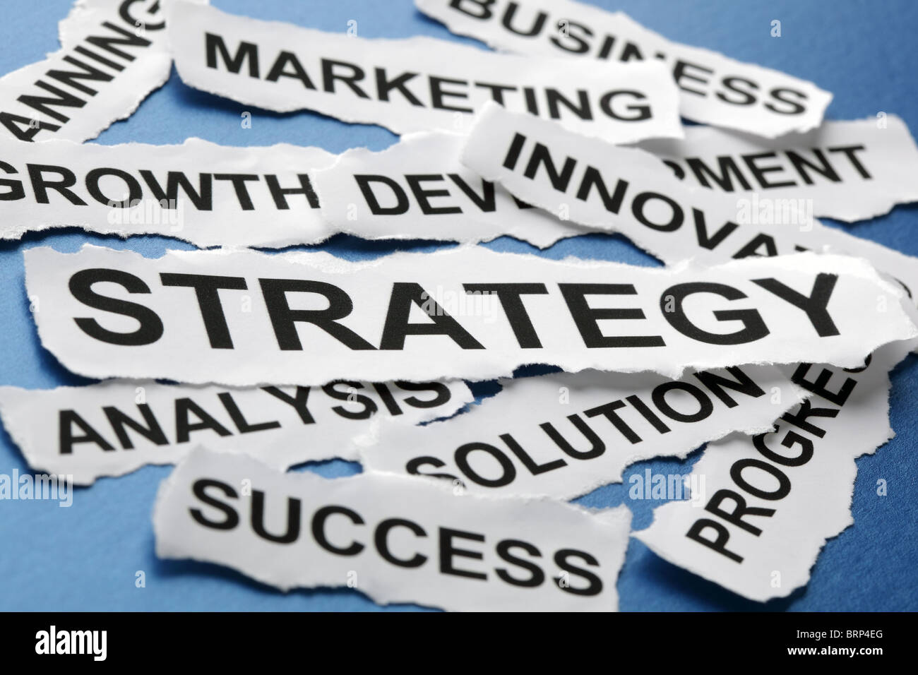 Business strategy - Stock Image