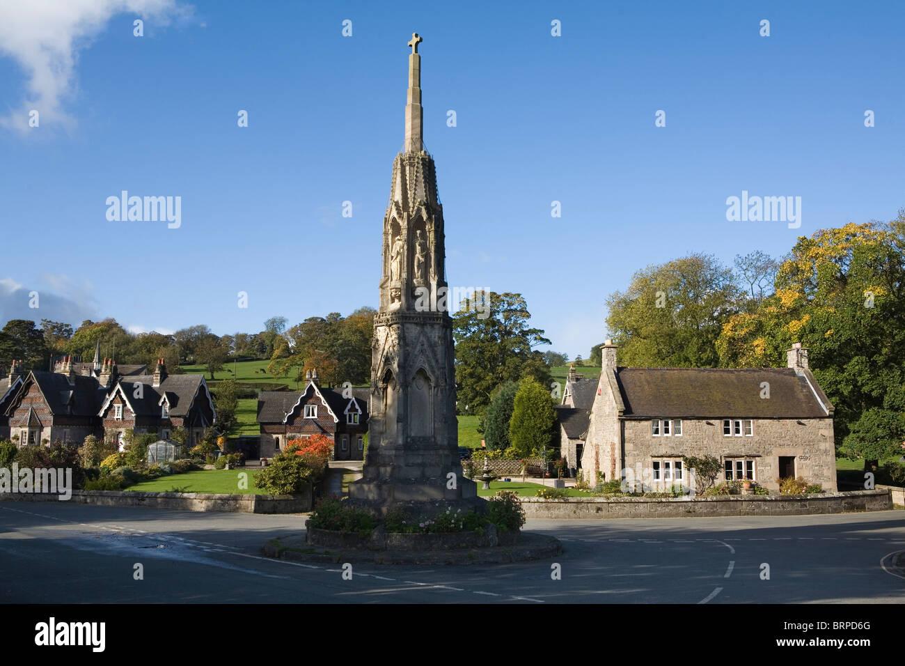 Ilam, Staffordshire, Peak District National Park, England, UK - Stock Image