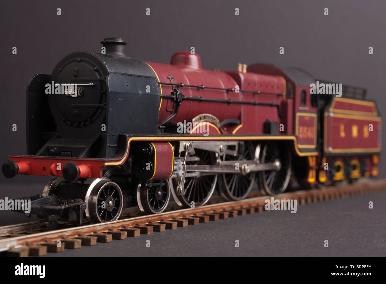 LMS Class 5XP Patriot, Maroon livery - Stock Image