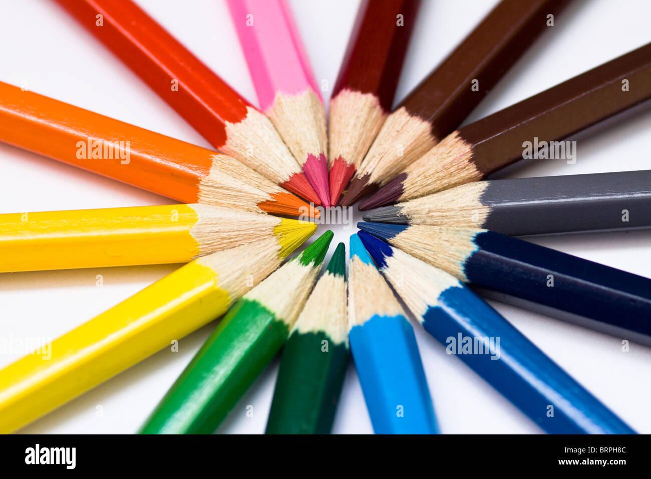 colour spectrum circle stock photos colour spectrum circle stock