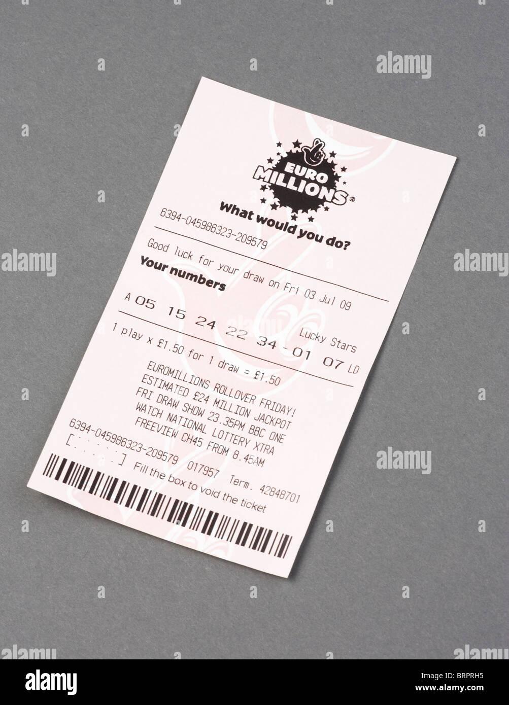 Euro Millions Stock Photos & Euro Millions Stock Images - Alamy