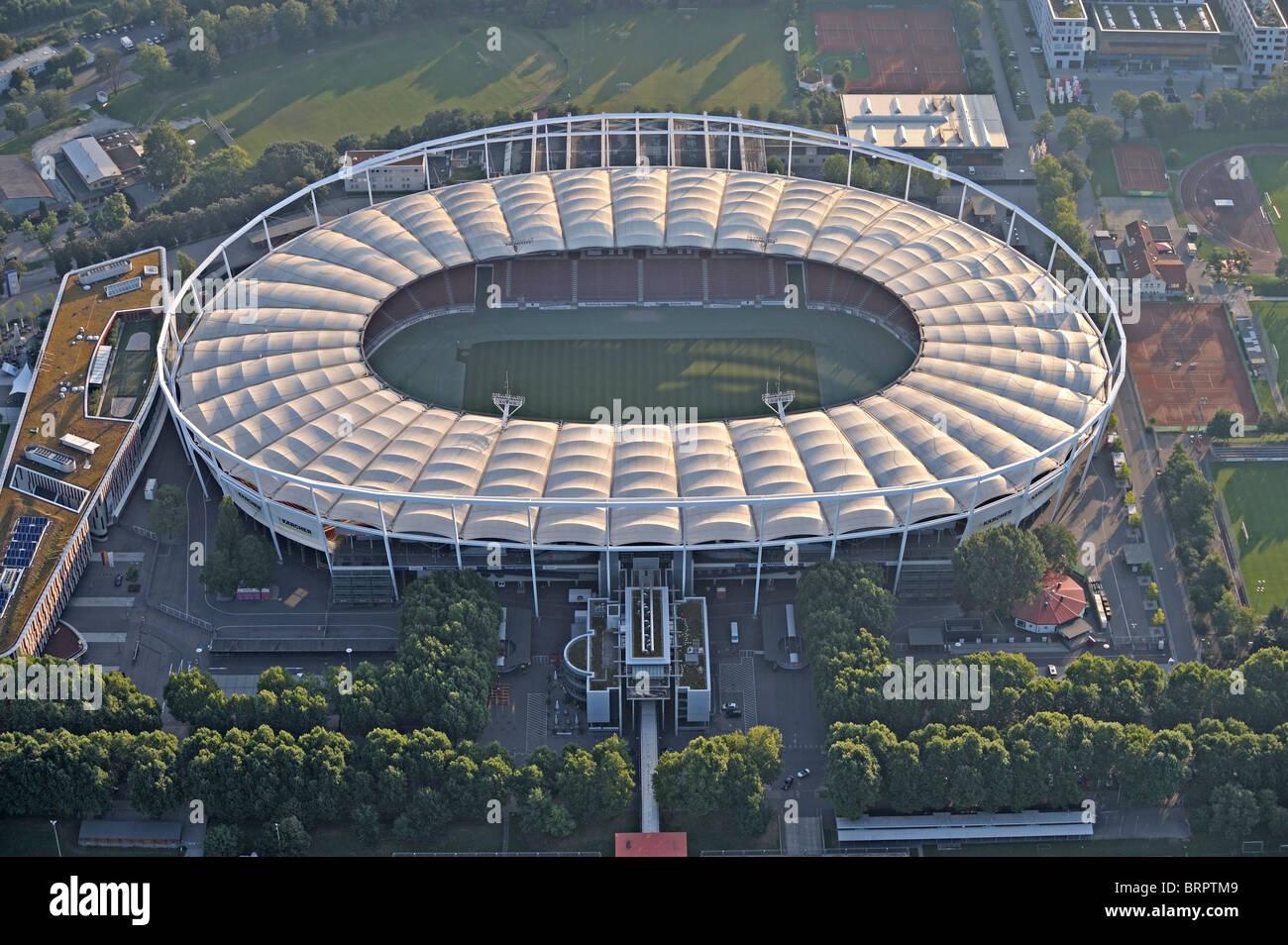 Mercedes Benz Arena soccer stadium Stuttgar - Stock Image