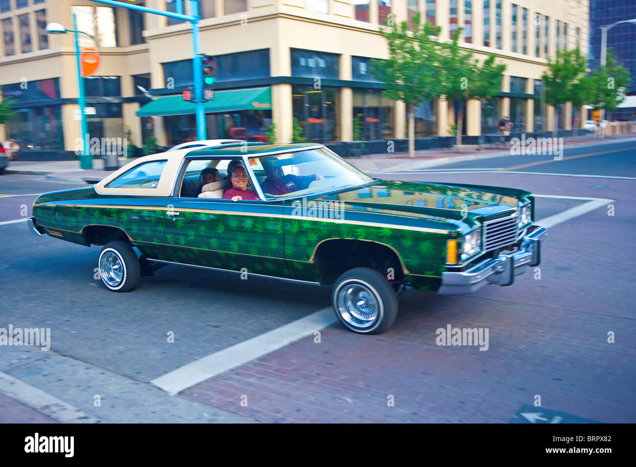 Albuquerque On A Saturday Night. Modified Cars, Pimped