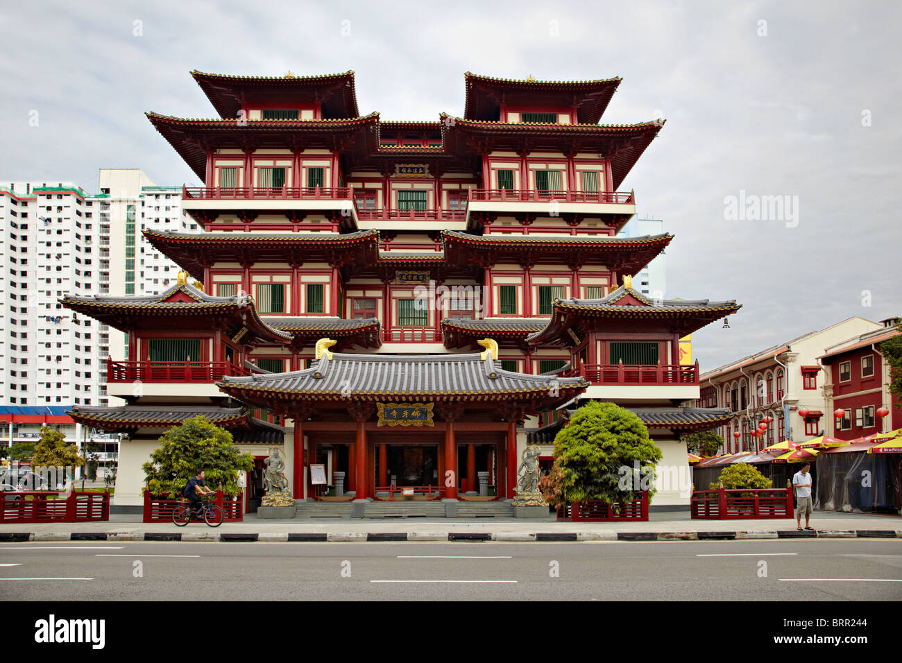 Buddah Tooth Relic Temple, Singapore - Stock Image