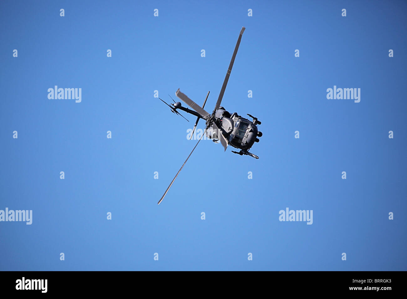Military Helicopter - Stock Image