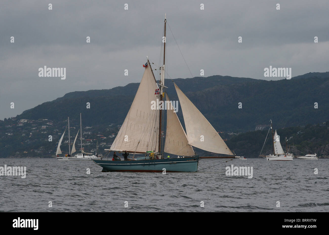 The Tall Ships Races 2008, Bergen - Stock Image