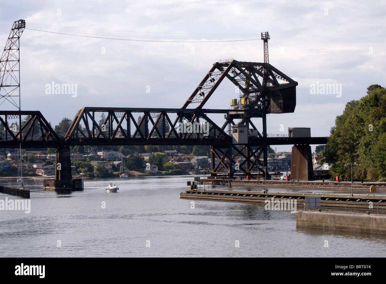 Ballard Bridge Stock Photos & Ballard Bridge Stock Images - Alamy