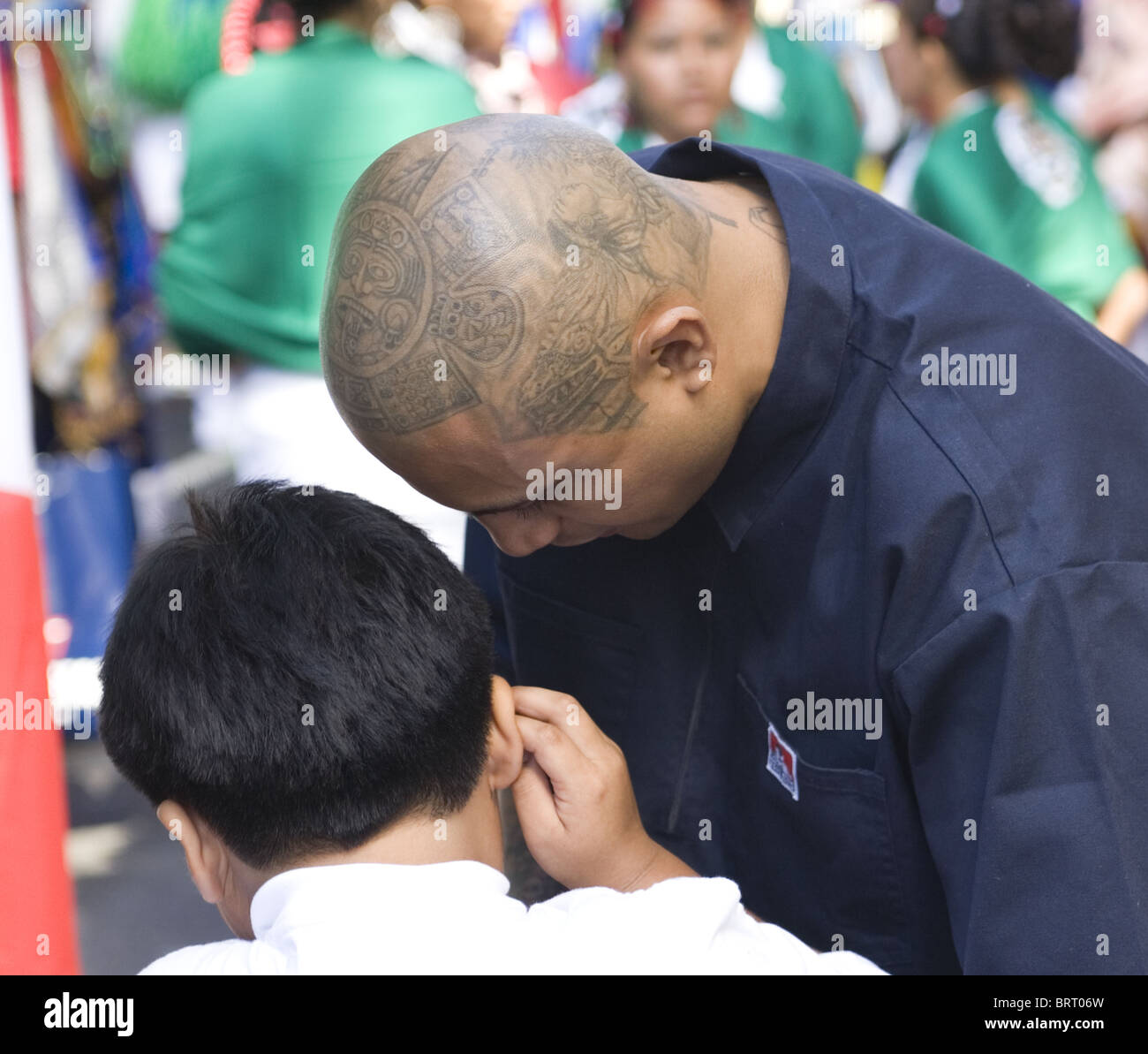 2010 Mexican Independence Day Parade in New York City - Stock Image