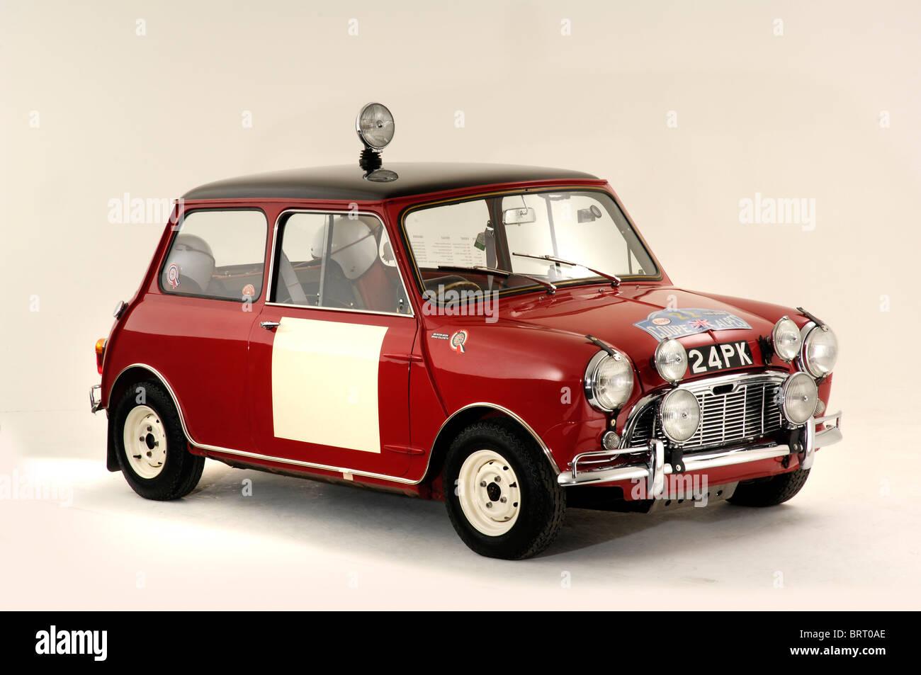 Austin Mini Cooper S 1963 - Stock Image