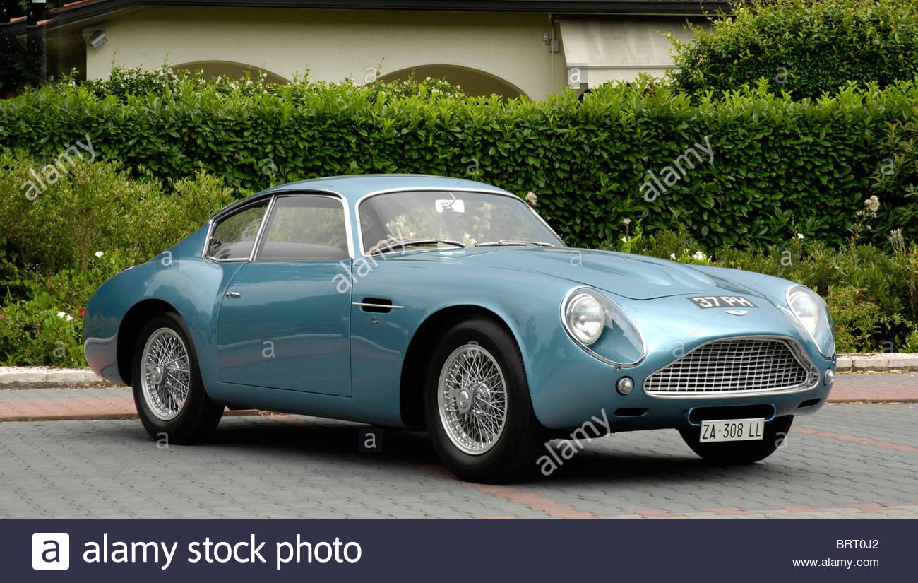 Aston Martin Zagato 1962 - Stock Image