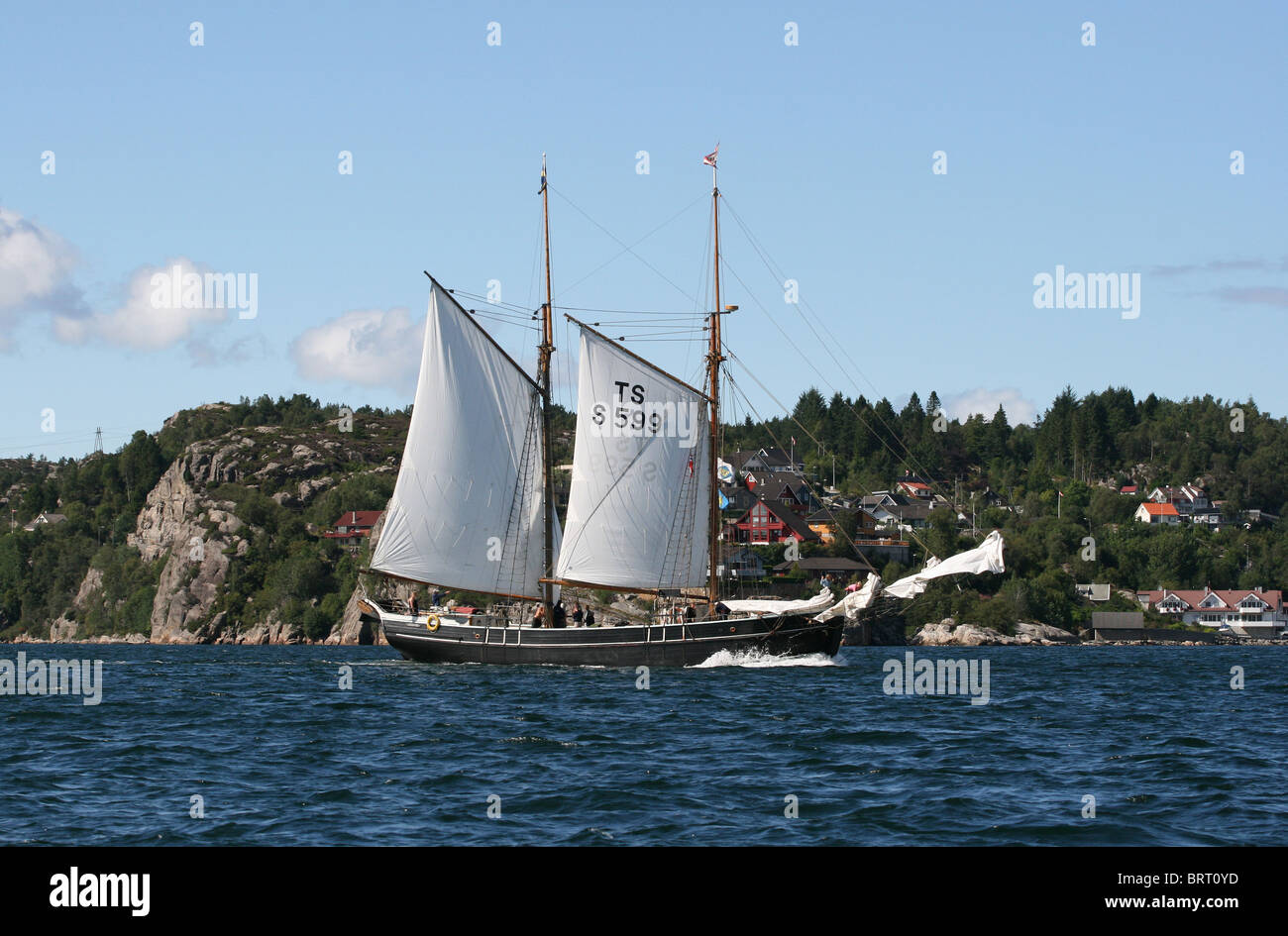 Constantia,The Tall Ships Races 2008, Bergen - Stock Image