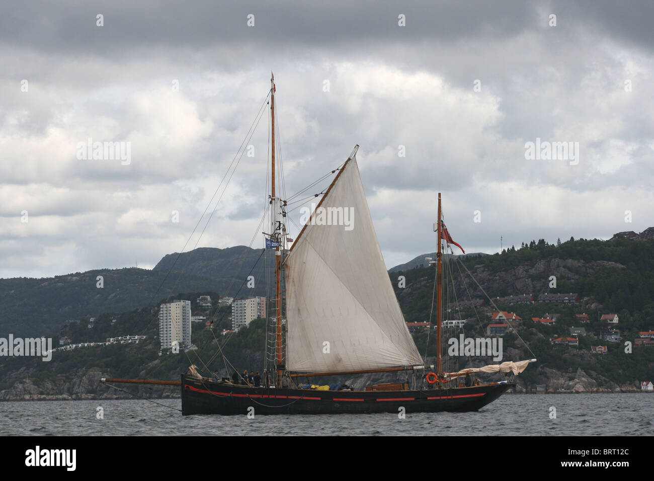 Leader, The Tall Ships Races 2008, Bergen - Stock Image