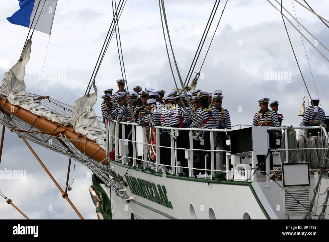 Cuauhtemoc,The Tall Ships Races 2008, Bergen - Stock Image