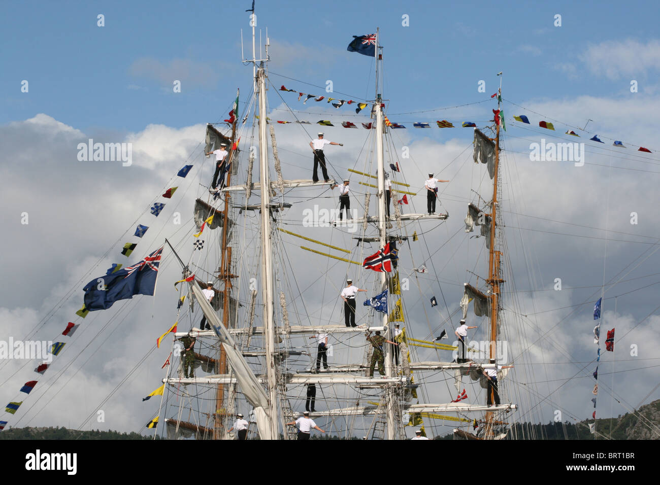 Royalist,The Tall Ships Races 2008, Bergen - Stock Image