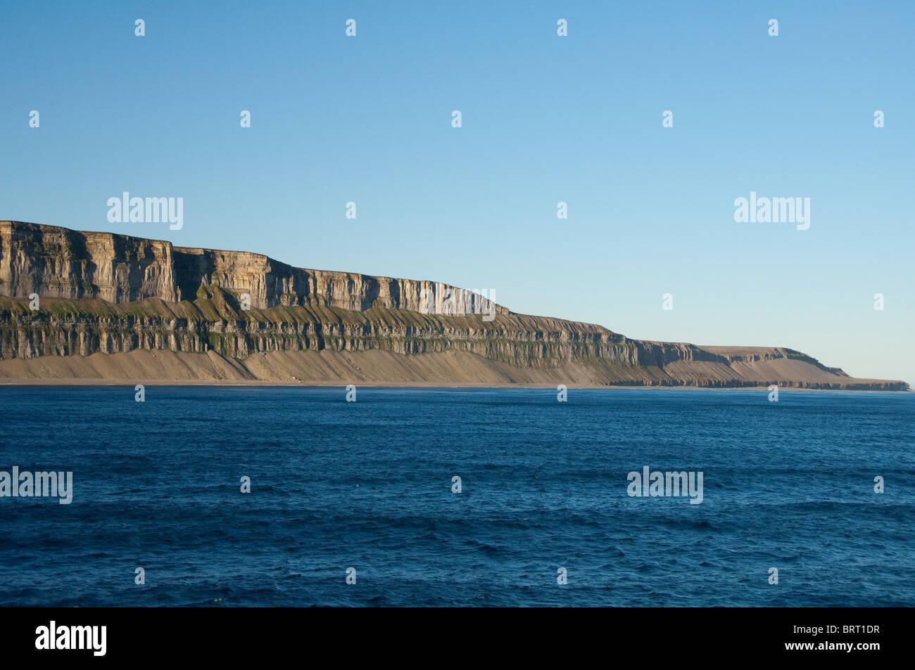 Canada, Nunavut, Qikiqtaaluk Region, Akpatok Island. - Stock Image