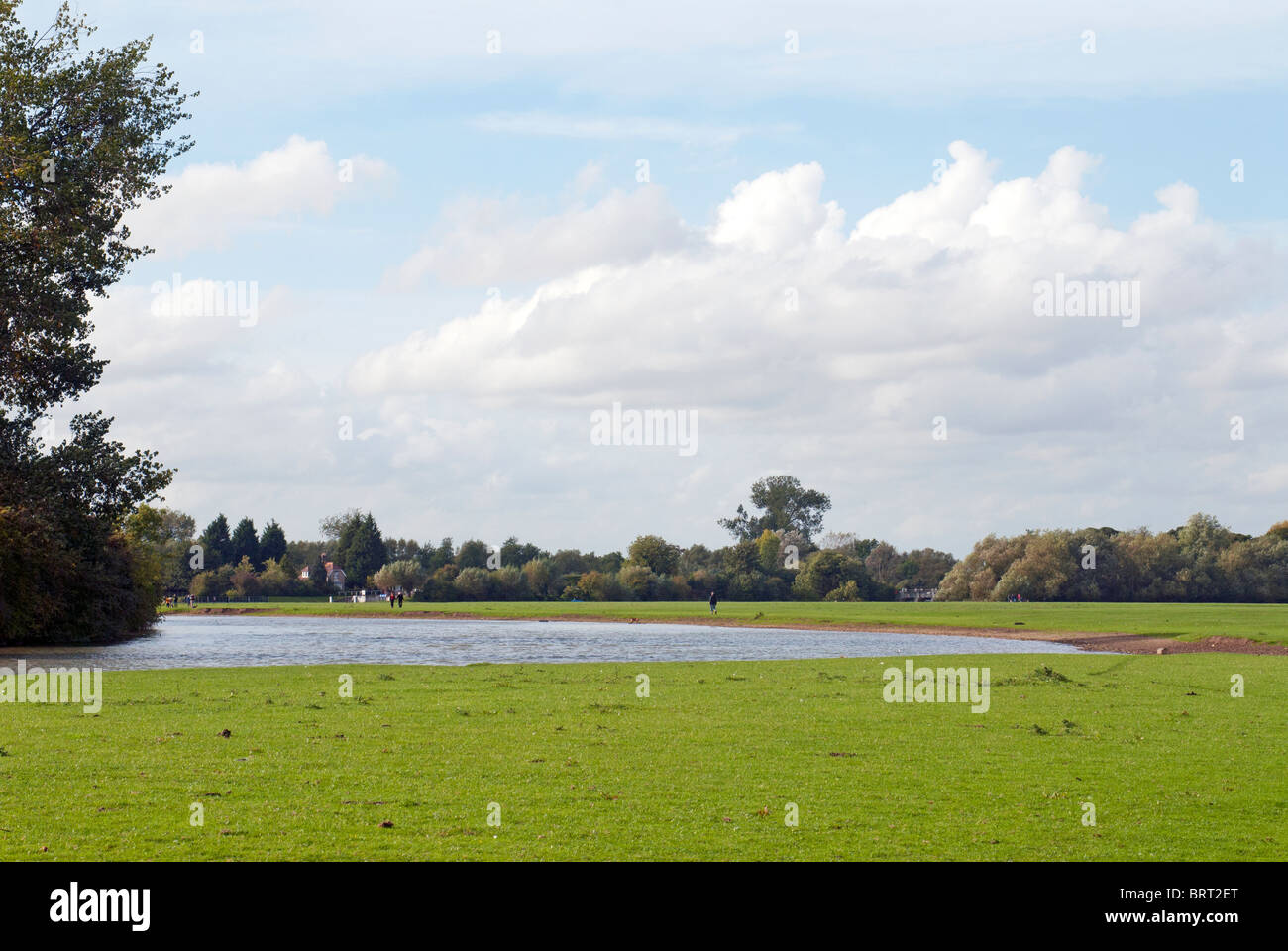 River Thames in Oxfordshire - Stock Image
