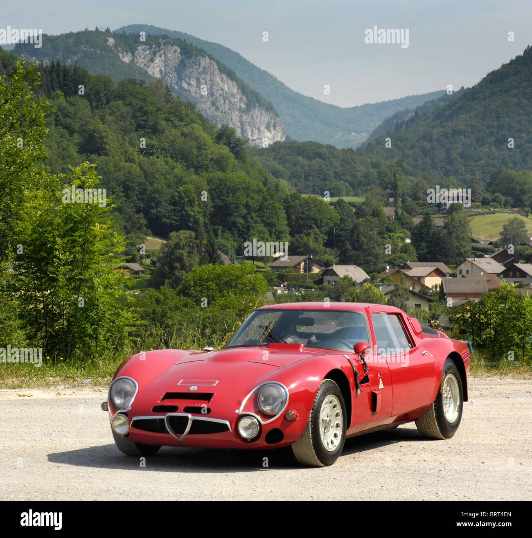 Alfa Romeo TZ2 1966   Stock Image