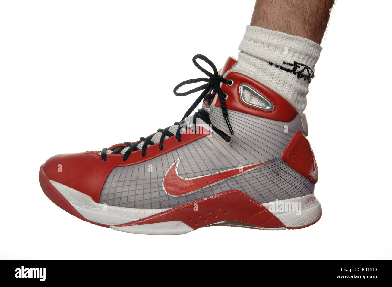 Nike basketball shoe - Stock Image