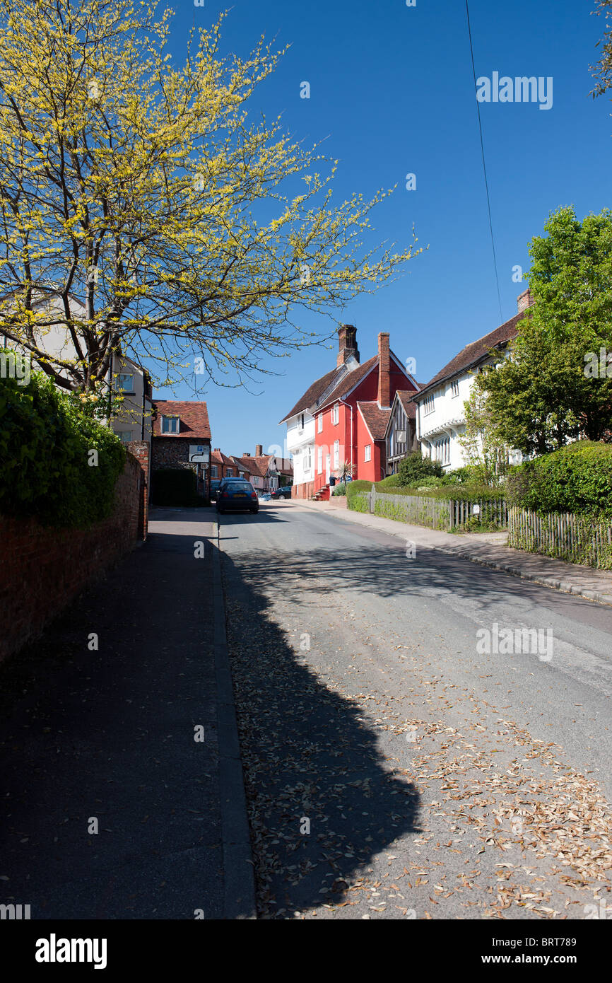 Lavenham, Suffolk, England, UK. - Stock Image