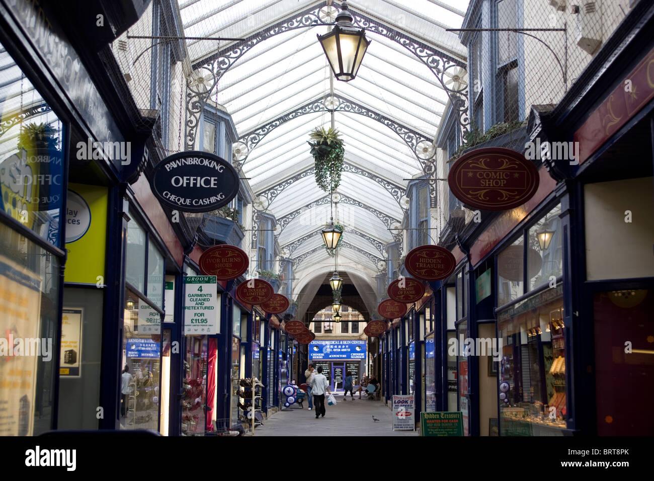 The Arcade Dewsbury West Yorkshire England UK - Stock Image