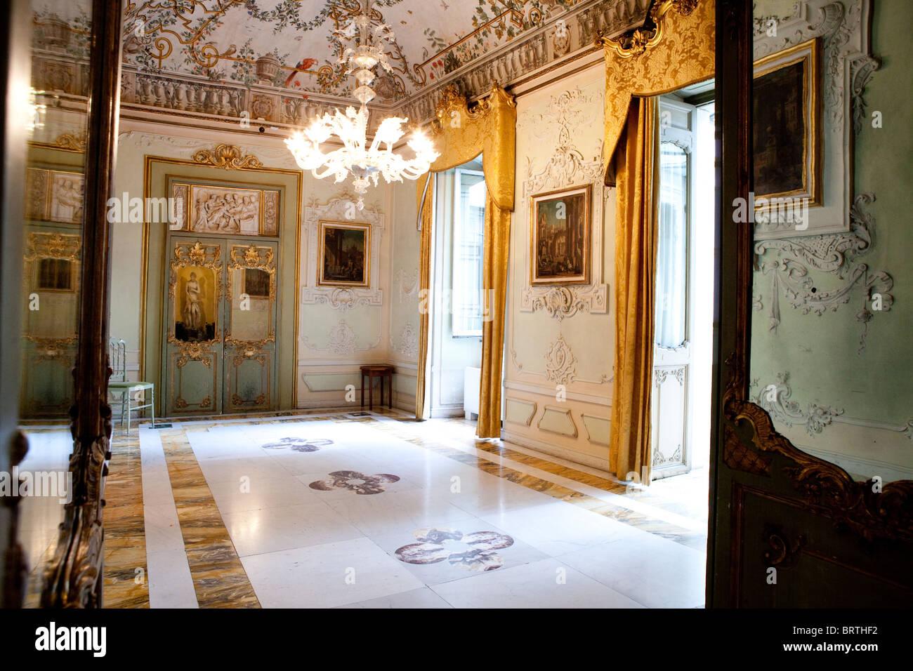 rondinini palace palace interior italian decorating furnishing rome