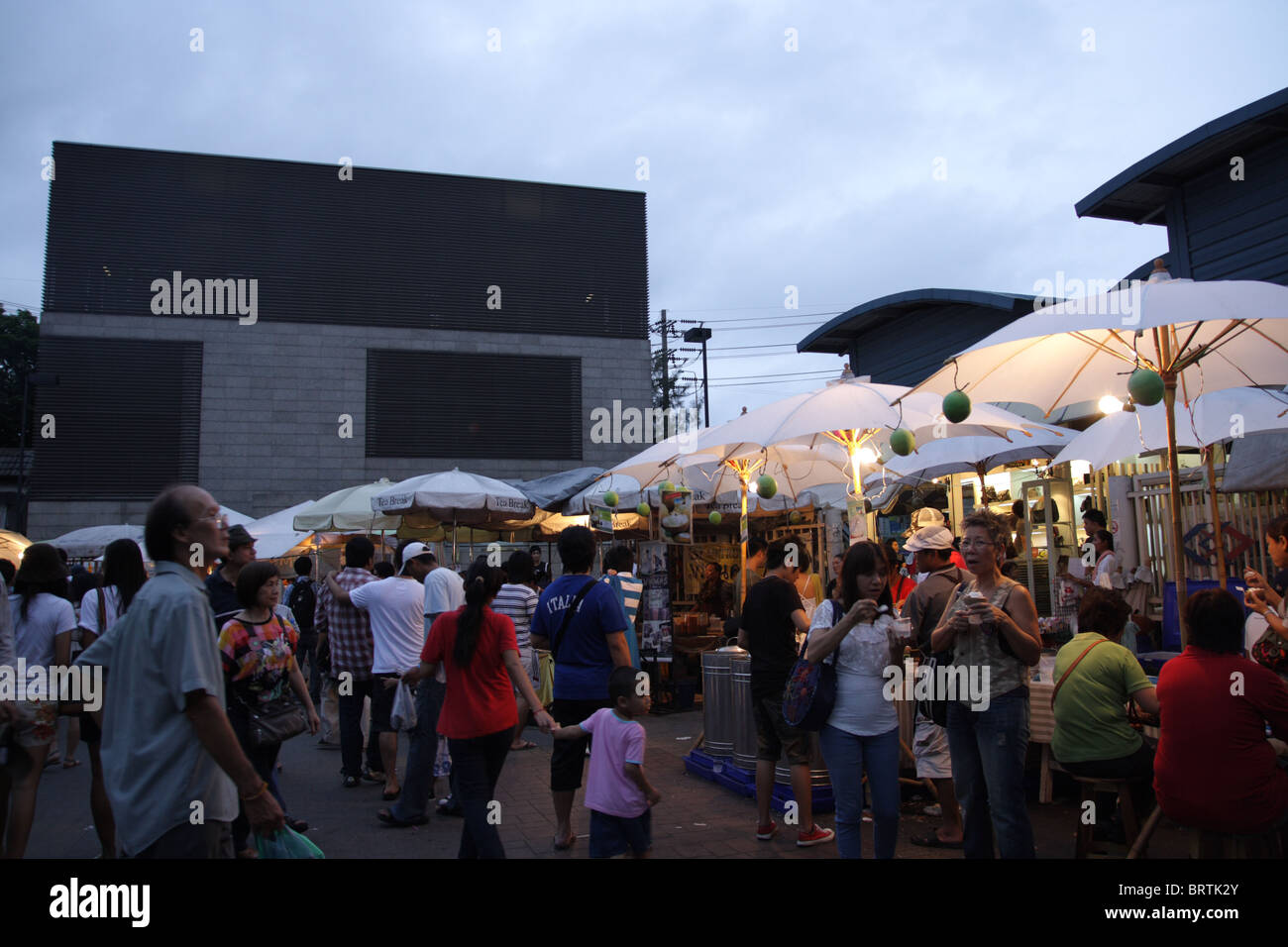 Chatuchak Weekend Market , Bangkok , Thailand - Stock Image