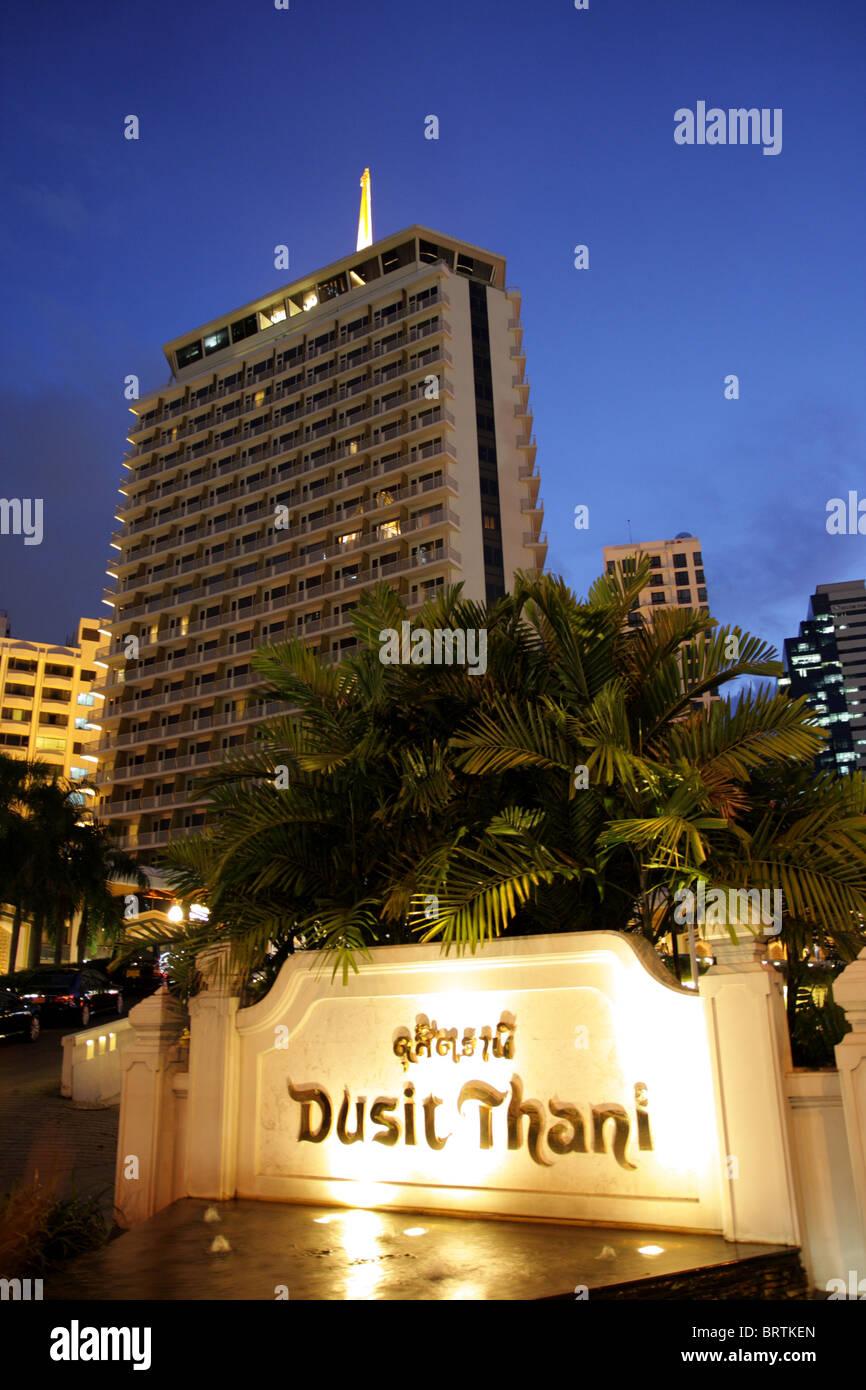 Dusit Thani Bangkok Hotel Bangkok Thailand Stock Photo 31889613
