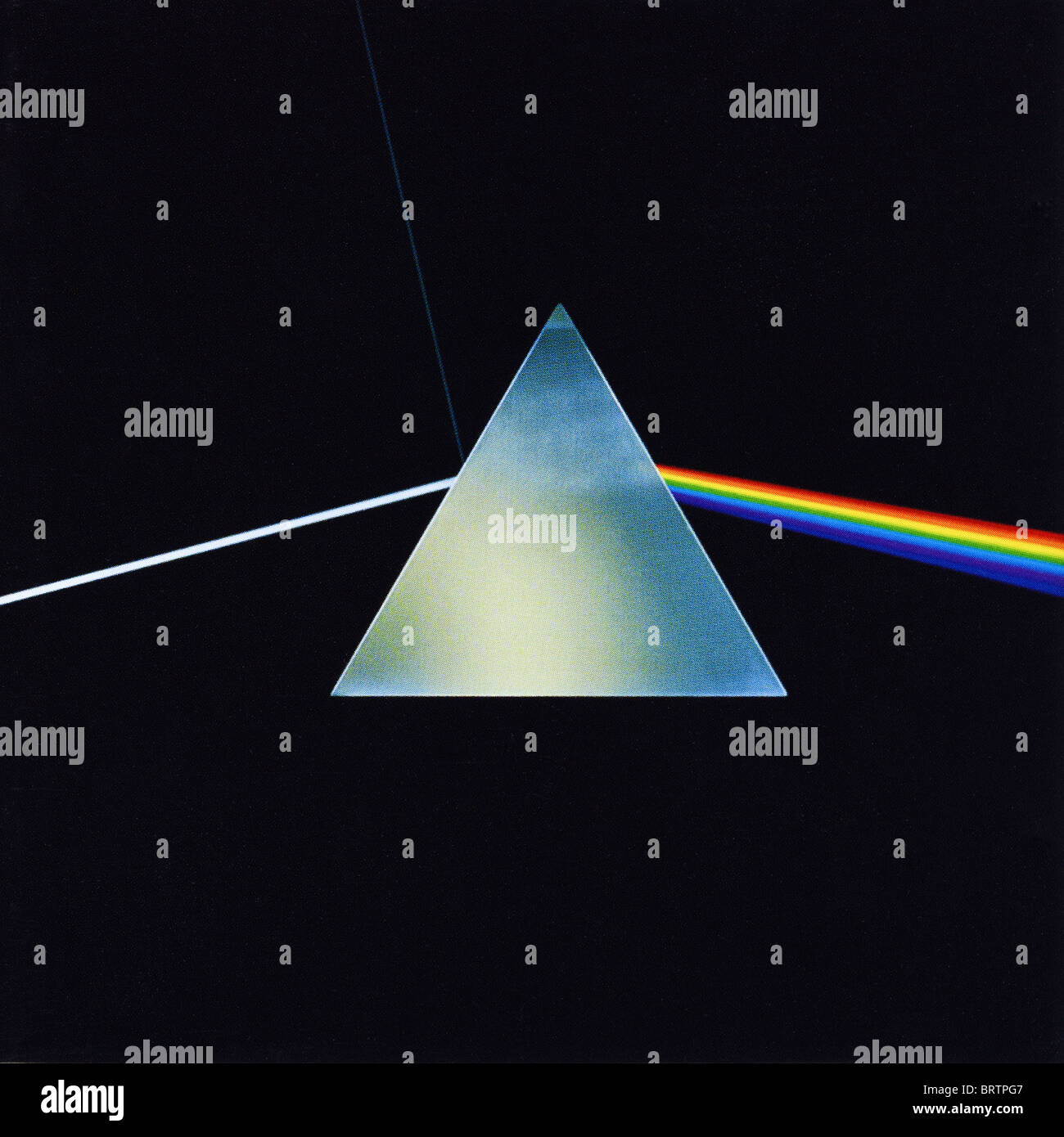 Album Cover Of Dark Side Of The Moon By Pink Floyd Released By Stock Photo Alamy