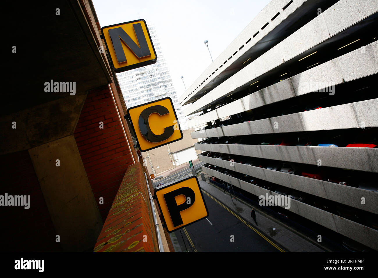Ncp Car Park In Soho London