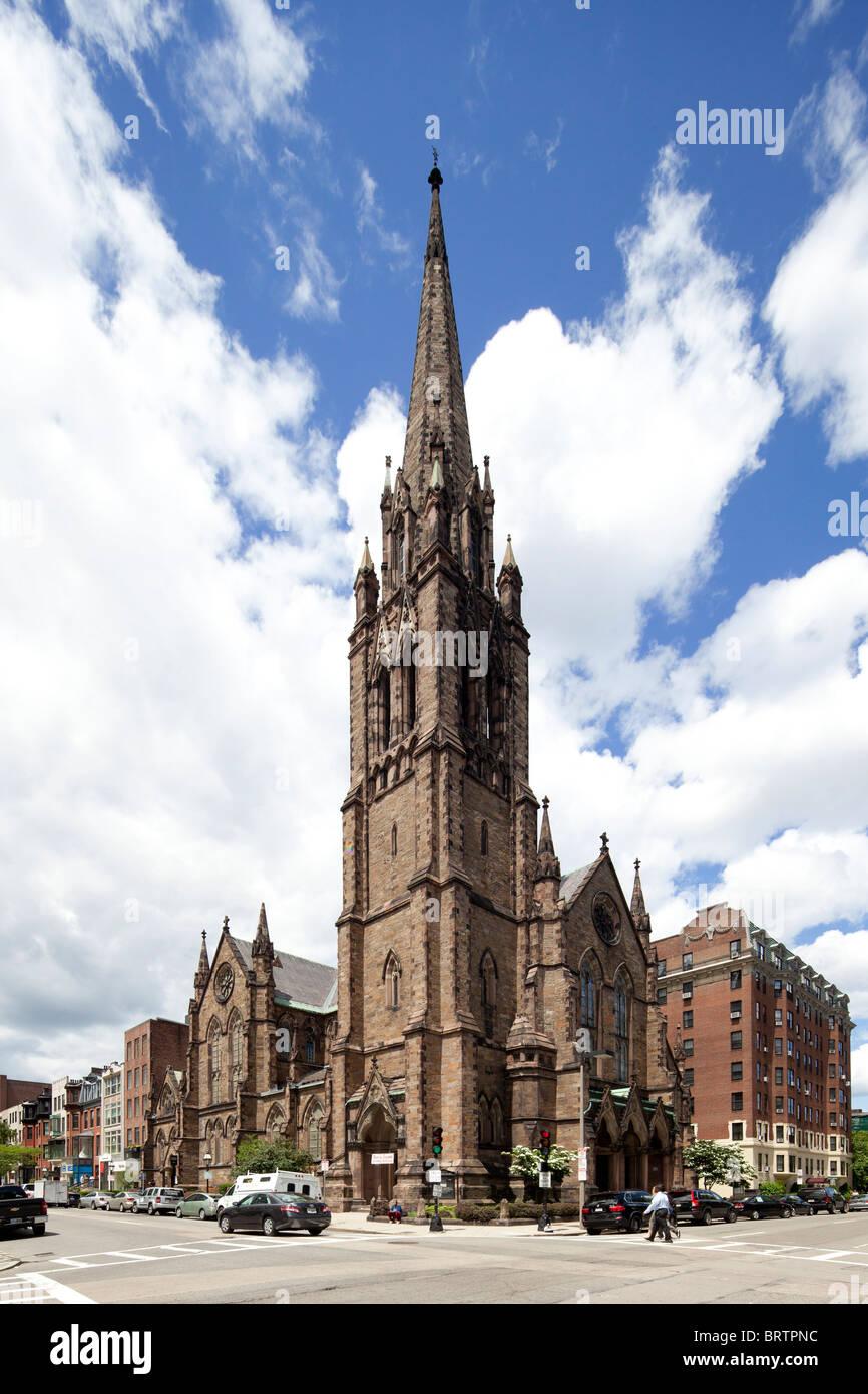 Church of Covenant, Boston, MA - Stock Image
