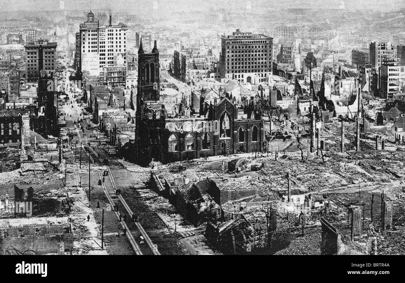 SAN FRANCISCO EARTHQUAKE 18 April 1906